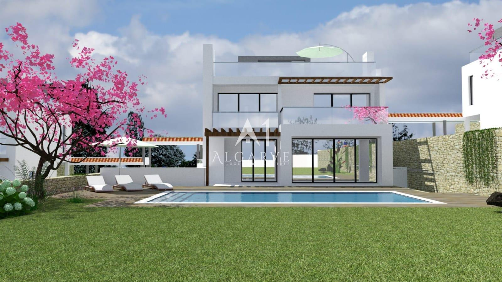 LUXURY VILLAS UNDER CONSTRUCTION