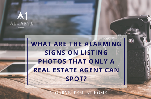 What are the alarming signs on listing photos that only a real estate agent can spot?